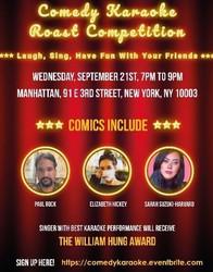 Comedy Karaoke Roast Competition
