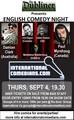 Copenhagen English Comedy Nights - Sept 4