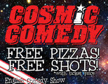 Cosmic Comedy Berlin Open Mic with Free Pizza & Shots