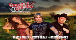 Country Legends Concert starring tributes to Garth, Shania, and Keith Urban - 10/16/21 - Asheville