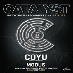 Coyu (Extended 4 Hour Set) at Treehouse Rooftop in Dtla