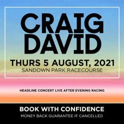 Craig David live at Sandown Park Racecourse!