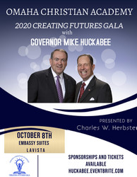 Creating Futures Gala 2020 with Mike Huckabee