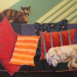 Creature Comforts, an Art Show- Anne Schreivogl