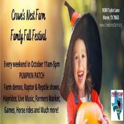 Crowe's Nest Farm Fall Fest