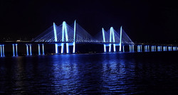Cuomo Bridge Going Blue for Alopecia Areata Awareness