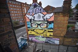 D*face x Zippo Street Art Mural