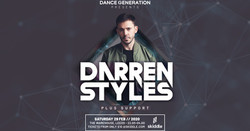 Dance Generation Presents: Darren Styles