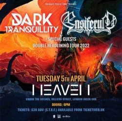 Dark Tranquility and Ensiferum at Heaven - London