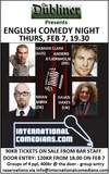 Copenhagen - English Stand-up Comedy Night @ Dubliner, Thurs, Feb 7