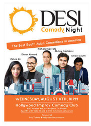 Desi Comedy Night at The Hollywood Improv