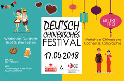 Deutsch-chinesisches Festival am 17. April 2018
