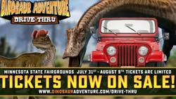 Dinosaur Adventure Drive-Thru Mn State Fair Grounds