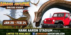 Dinosaur Adventure Drive-Thru Mobile