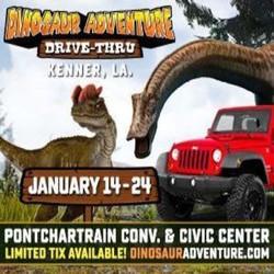 Dinosaur Adventure Drive-Thru New Orleans