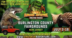 Dinosaur Adventure Drive-Thru Philly-New Jersey