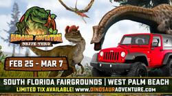 Dinosaur Adventure Drive-Thru West Palm Beach