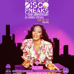 Disco Freaks 7 Year Anniversary (a Lounge Special) at The Clf Art Lounge, Peckham - Free Entry