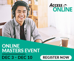 Discover a world of Masters opportunities with Access Online