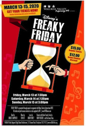 Postponed - Disney's Freaky Friday the Musical
