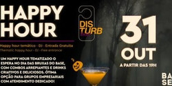 Disturb Boo - Happy Hour especial de Halloween - Hotel Pullman