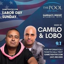 Dj Camilo & Dj Lobo Harrahs Pool Party Labor Day Sunday