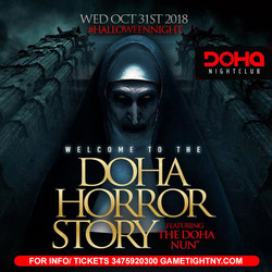 Doha Nightclub Halloween night 2018