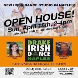 Drake Irish Dance Open House
