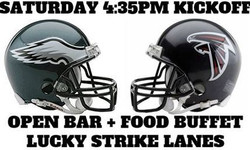 Eagles vs Falcons Playoff Viewing Party - Lucky Strike