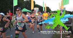 Earth Day 5 Miler and 2 Miler