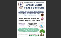 Easter Plant Sale/ Bake Sale