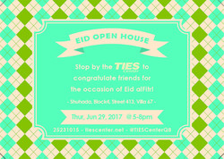Eid Open House