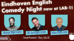 Eindhoven English Comedy Night, Thurs, July 23