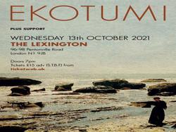 Ekotumi at The Lexington - London