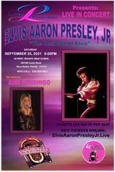 Elvis Aaron Presley Jr Live in Boca Raton $20 per seat