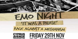 Emo tribute night: It Was A Phase