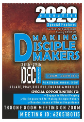 Encounter 2020: The Great Commission : Making Disicple Makers