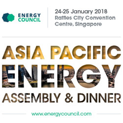 Energy Council - Asia Pacific Assembly and Awards Dinner, Singapore 2018