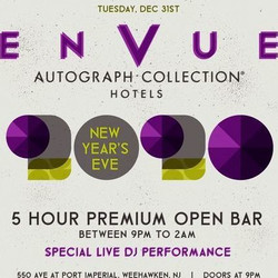 Envue Autograph Collection New Years Eve 2020 Party