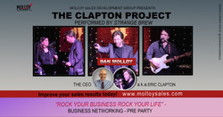 Eric Clapton Tribute Concert and Rock Your Business - Business Networking