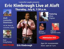 Eric Kimbrough Live at Aloft