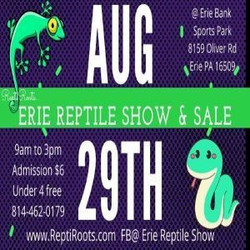 Erie Reptile Show And Sale