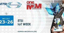 Etsi IoT Week 2017