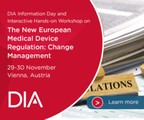 European Medical Device Regulation Workshop: Change Management