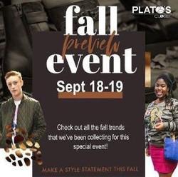 Fall Reveal at 5 Plato's Closet Columbus Stores