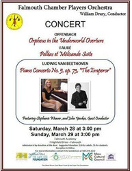 Falmouth Chamber Players Orchestra Concert