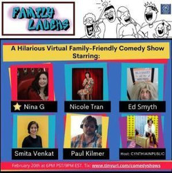 Family Laughs - A Hilarious Family-Friendly Virtual Comedy Show (clean)