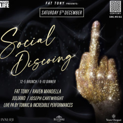 Fat Tony presents: Social Discoing - The Brunch