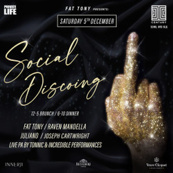Fat Tony presents: Social Discoing - The Dinner