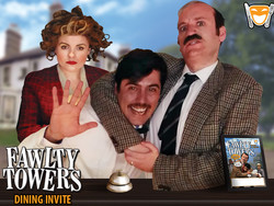 Fawlty Towers Comedy Dinner Show Merryhill Copthorne Hotel 01/11/2019
